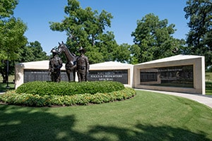 Fort Worth Police & Firefighters Memorial